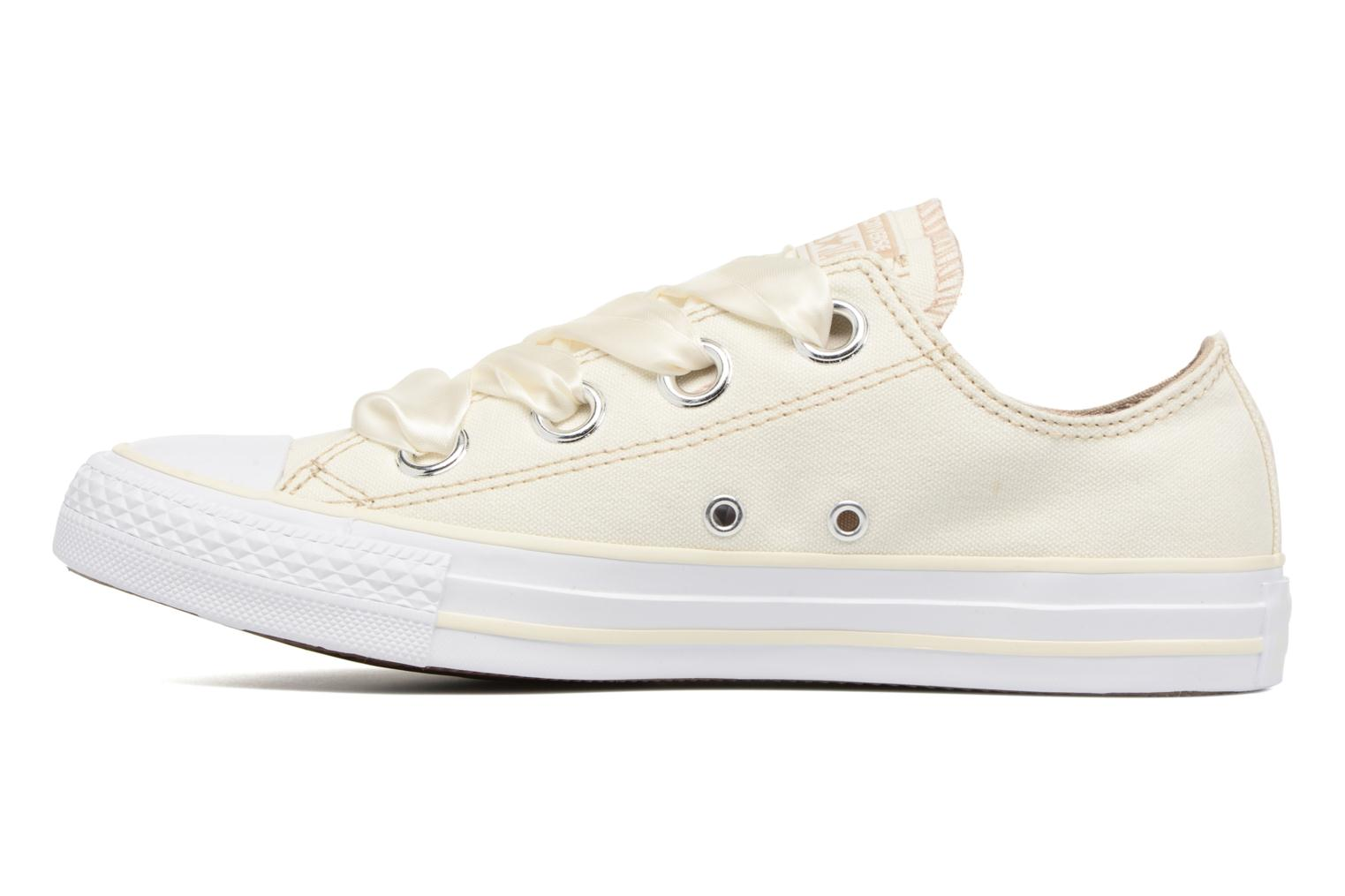 Baskets Converse Chuck Taylor All Star Big Eyelets Pastel Canvas Ox Blanc vue face