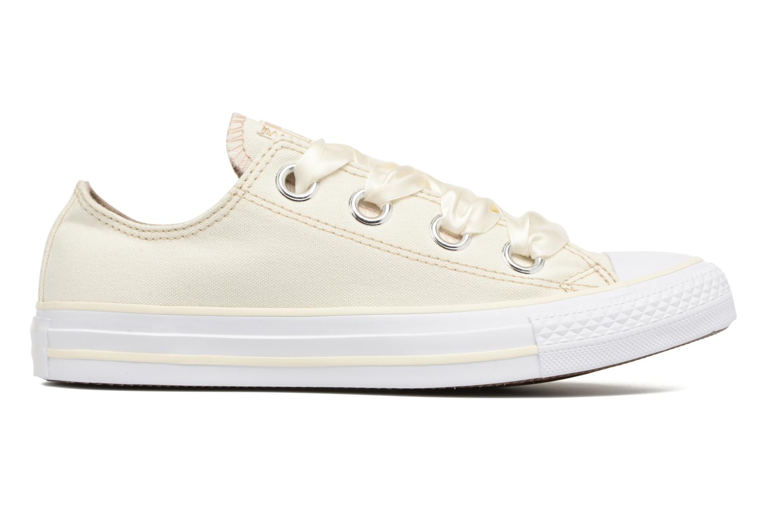 Baskets Converse Chuck Taylor All Star Big Eyelets Pastel Canvas Ox Blanc vue derrière