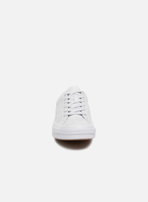 Sneakers Converse One Star Peached Wash Ox W Blauw model