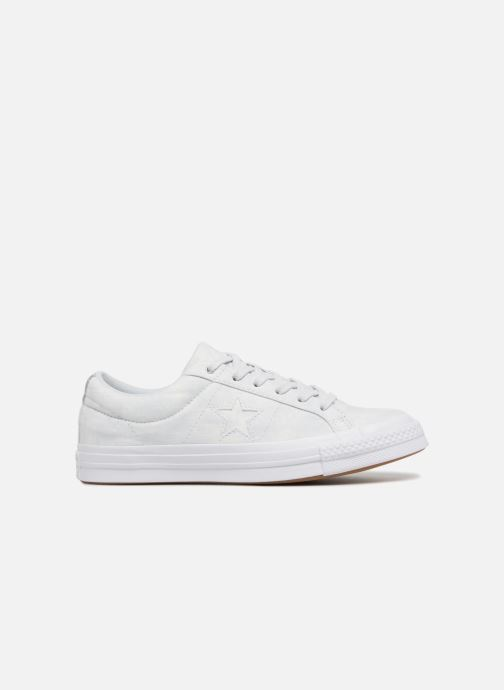 Sneakers Converse One Star Peached Wash Ox W Blauw achterkant