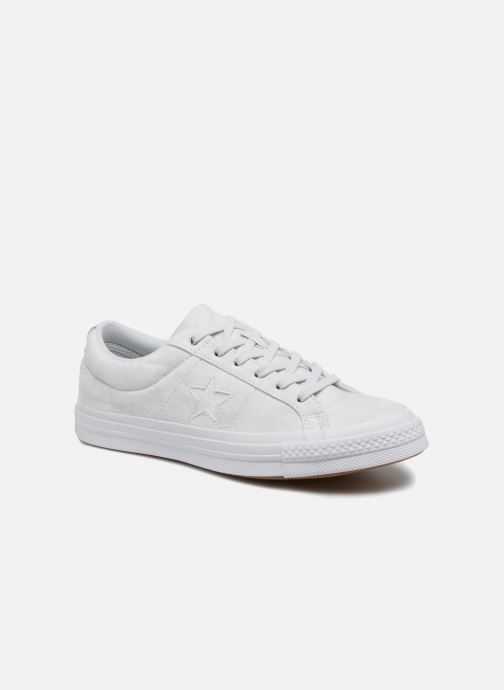 Sneakers Converse One Star Peached Wash Ox W Blauw detail
