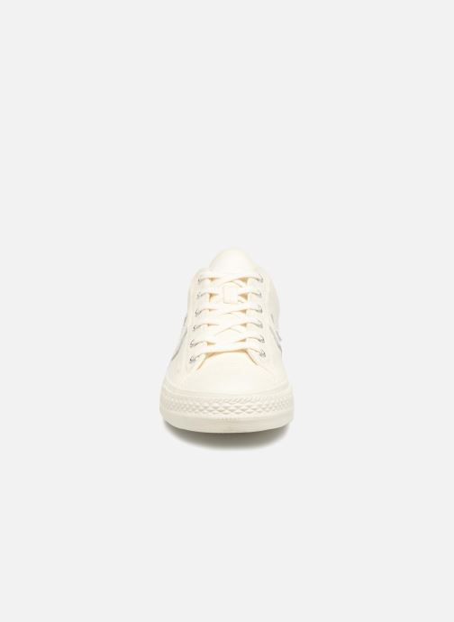 Trainers Converse Star Player Fashion Textile Ox White model view
