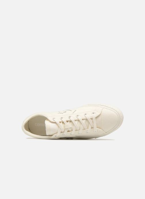 Trainers Converse Star Player Fashion Textile Ox White view from the left