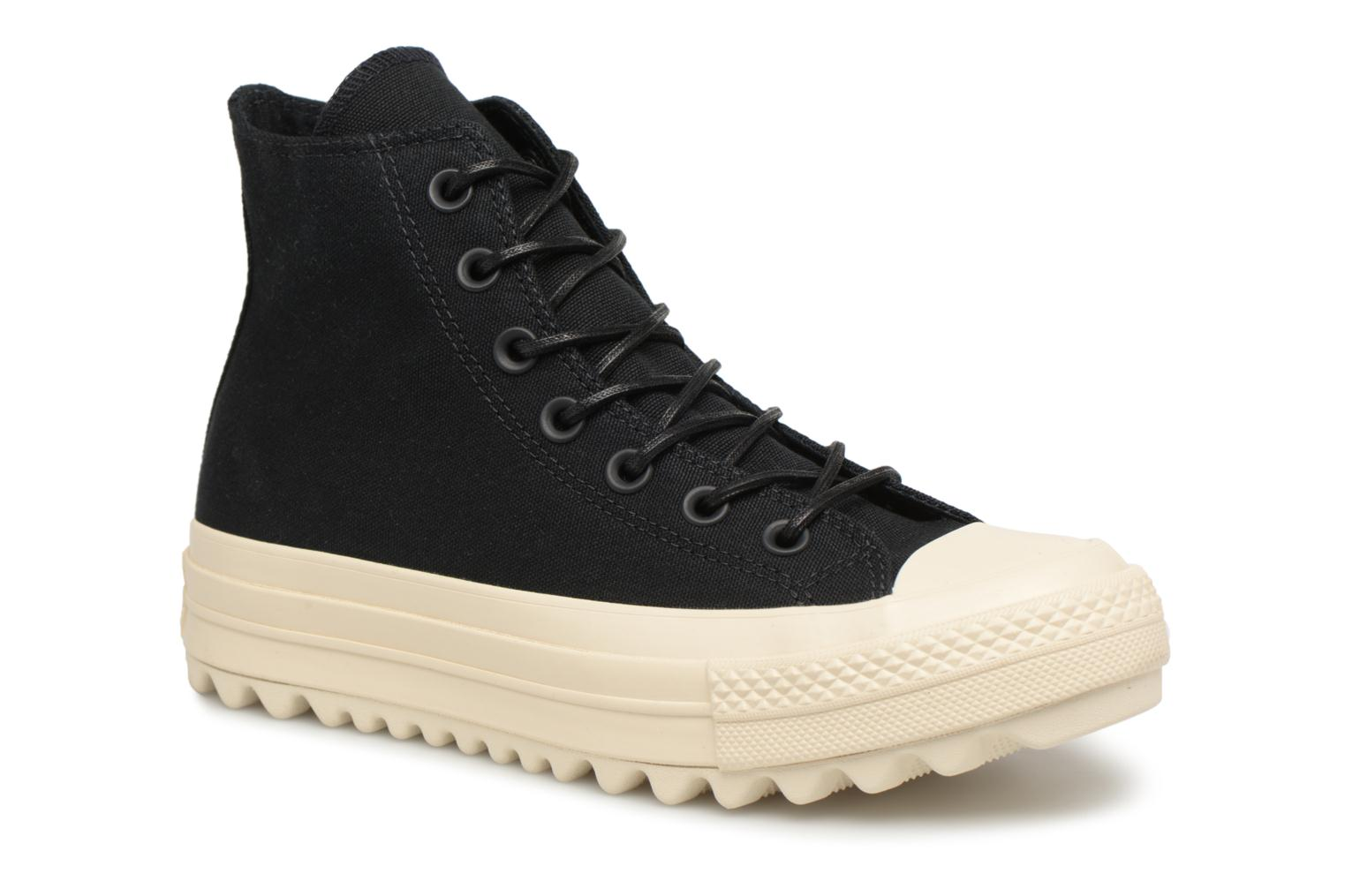 Star Lift Taylor Converse All noir Ripple Hi Chuck Canvas qBUpxTnt
