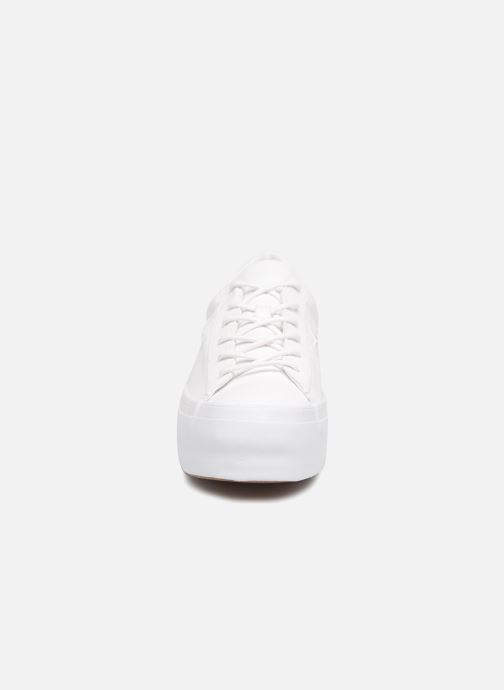 8a15277661fe77 Trainers Converse One Star Platform Tri-Block Midsole Ox White model view