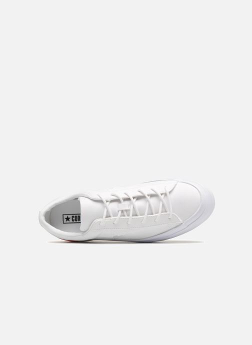 0e8ee040763d4e Trainers Converse One Star Platform Tri-Block Midsole Ox White view from  the left