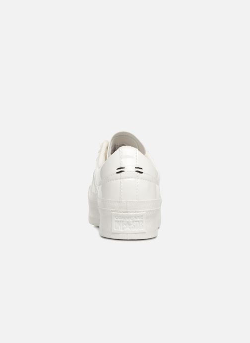 Trainers Converse One Star Platform Ox White view from the right