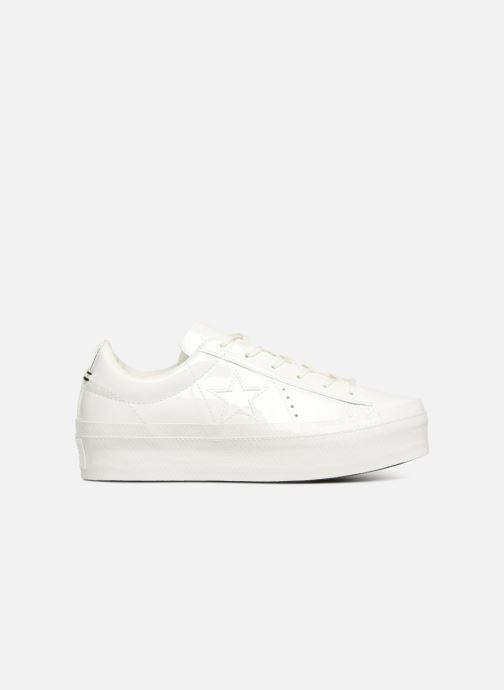 Trainers Converse One Star Platform Ox White back view