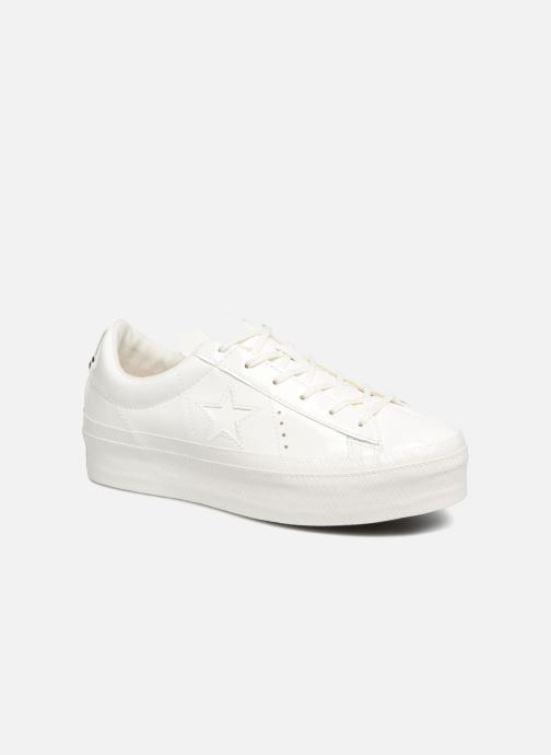 Trainers Converse One Star Platform Ox White detailed view/ Pair view