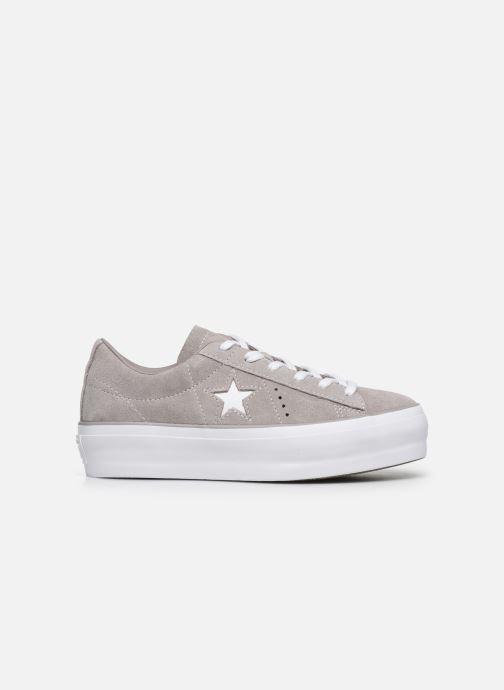 Sneakers Converse One Star Platform Ox Grigio immagine posteriore