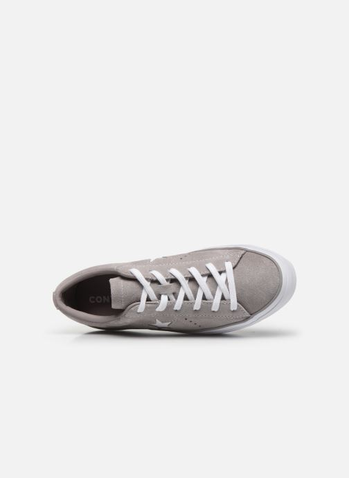 Sneakers Converse One Star Platform Ox Grigio immagine sinistra