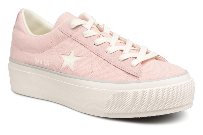 modelo más vendido de la marca Converse One Star Platform en Ox (Rosa) - Deportivas en Platform Más cómodo 826dca