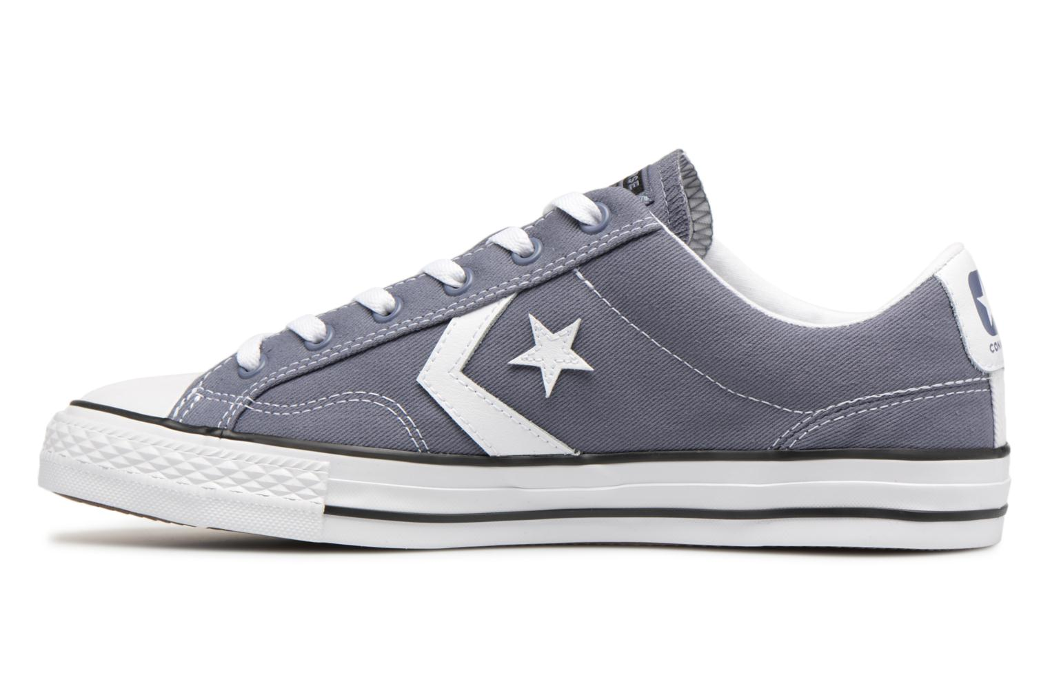 Sneakers Converse Star Player Summer Twill Ox Grijs voorkant