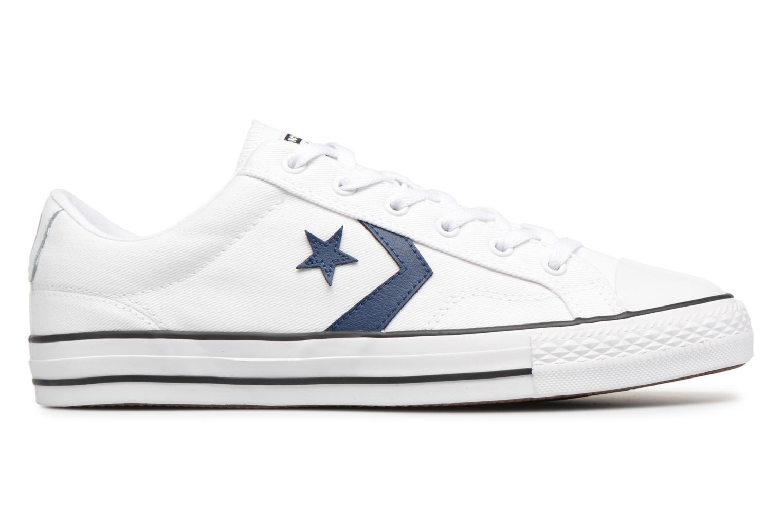 Sneaker Converse Star Player Summer Twill Ox weiß ansicht von hinten