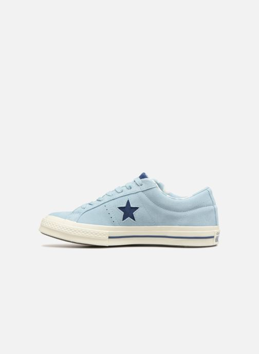 Baskets Converse One Star Tropical Feet Ox Bleu vue face