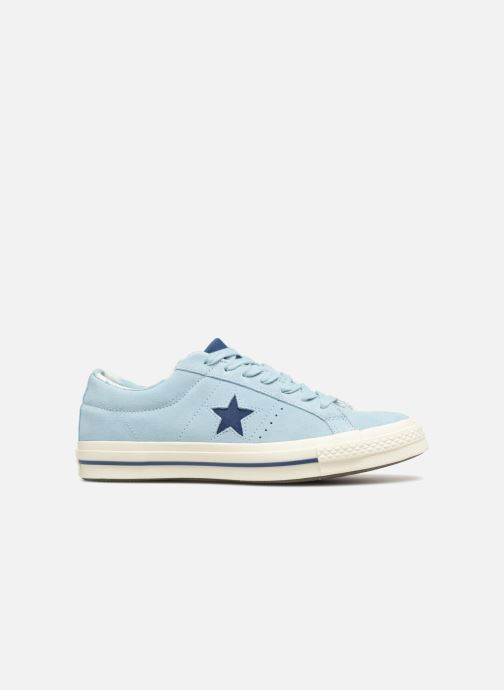 Baskets Converse One Star Tropical Feet Ox Bleu vue derrière