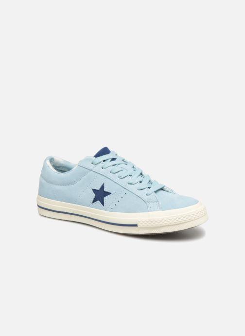 Baskets Converse One Star Tropical Feet Ox Bleu vue détail/paire