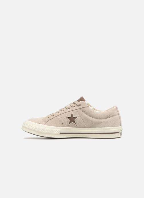Trainers Converse One Star Tropical Feet Ox Beige front view