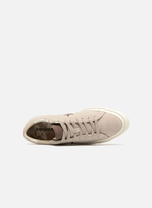 Trainers Converse One Star Tropical Feet Ox Beige view from the left