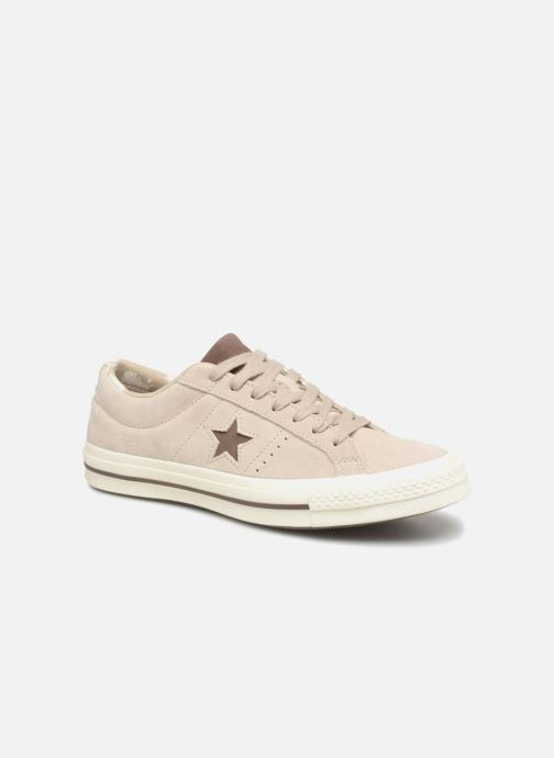 2b65c844ef2ef3 Trainers Converse One Star Tropical Feet Ox Beige detailed view  Pair view