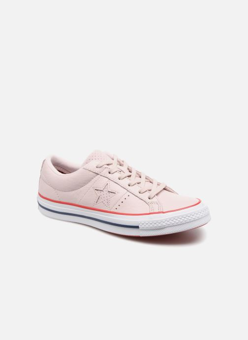 228c709a3bd9 Converse One Star New Heritage Ox (Pink) - Trainers chez Sarenza ...