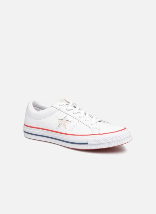 4dd12f9518b5 Converse One Star New Heritage Ox (White) - Trainers chez Sarenza ...