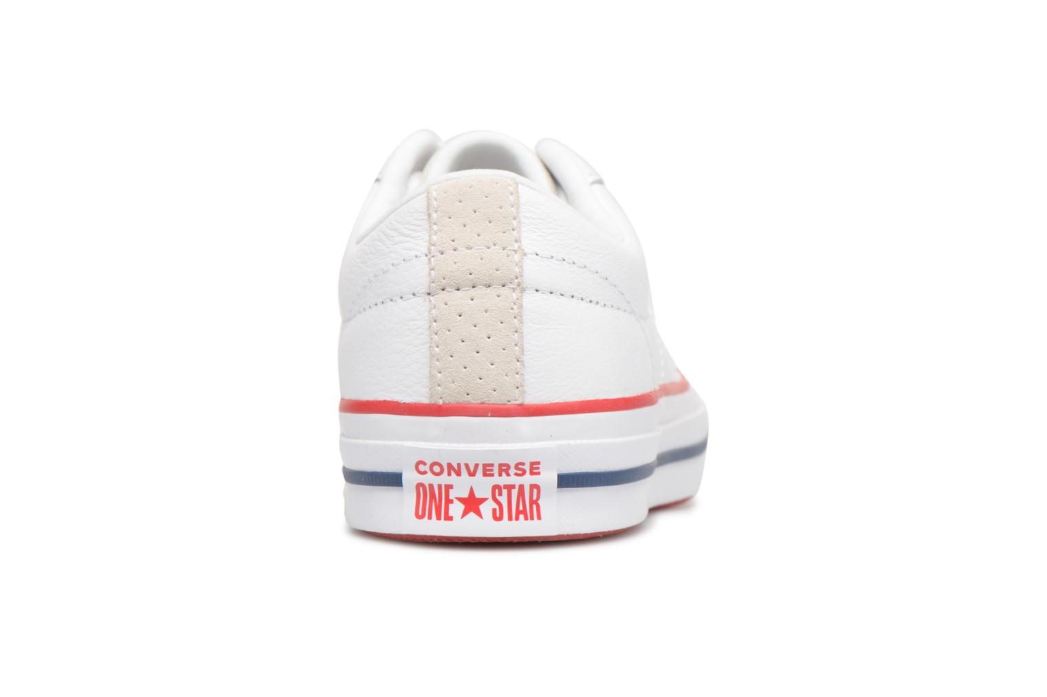 Baskets Converse One Star New Heritage Ox Blanc vue droite