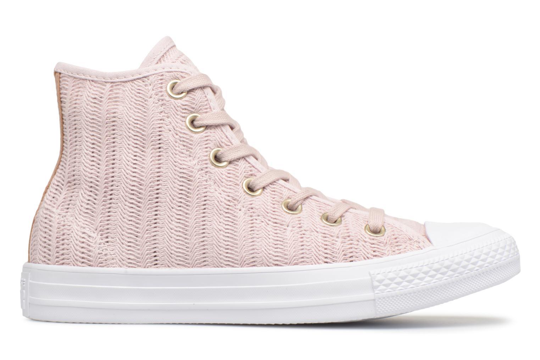 Sneakers Converse Chuck Taylor All Star Herringbone Mesh Hi Rosa immagine posteriore