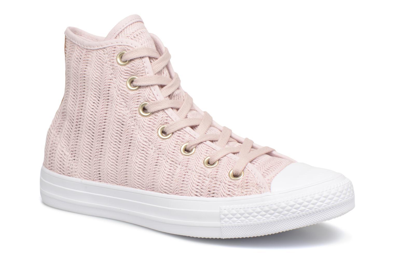 Sneakers Converse Chuck Taylor All Star Herringbone Mesh Hi Rosa vedi dettaglio/paio