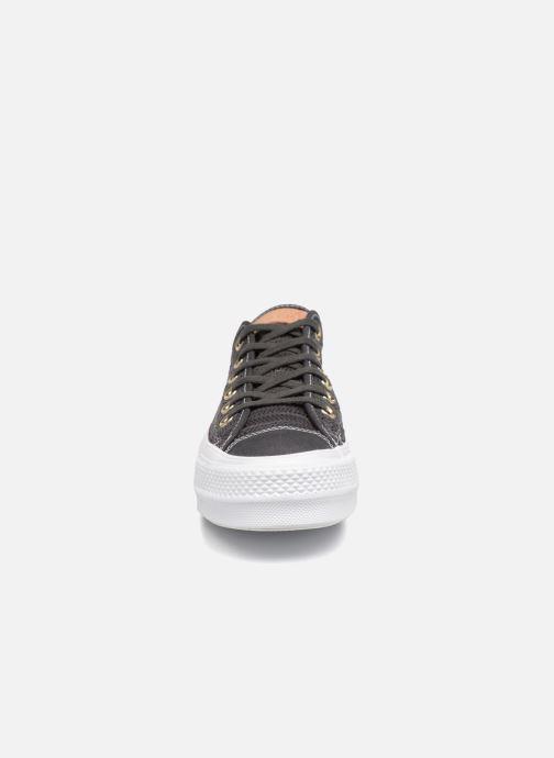 Star Mesh indossato Sneakers Nero Chuck Ox Lift Converse Herringbone Taylor All modello TwwZnRxq4