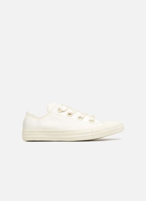 139f7a4a41efb7 Trainers Converse Chuck Taylor All Star Big Eyelets Satin Ox White back view