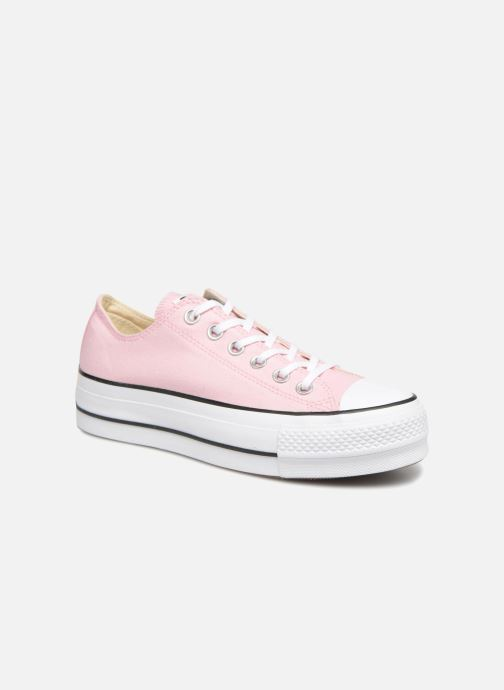 7155fddef320 Converse Chuck Taylor All Star Lift Canvas Color Ox (Pink ...
