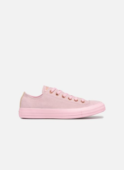 Baskets Converse Chuck Taylor All Star Tonal P. Suede Ox Rose vue derrière