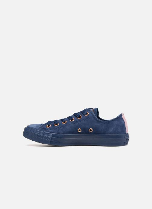 Trainers Converse Chuck Taylor All Star Tonal P. Suede Ox Blue front view