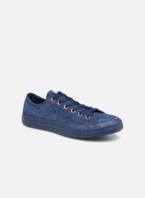 Trainers Converse Chuck Taylor All Star Tonal P. Suede Ox Blue detailed view/ Pair view