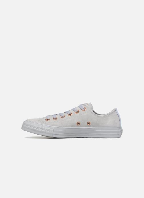 Baskets Converse Chuck Taylor All Star Tonal P. Suede Ox Gris vue face