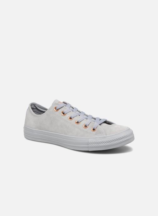 375e7ba9b65 Trainers Converse Chuck Taylor All Star Tonal P. Suede Ox Grey detailed  view/ Pair