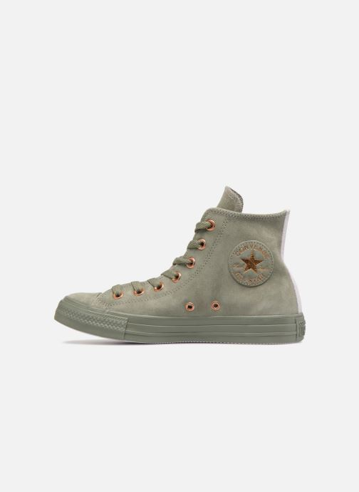 Trainers Converse Chuck Taylor All Star Tonal P. Suede Hi Green front view