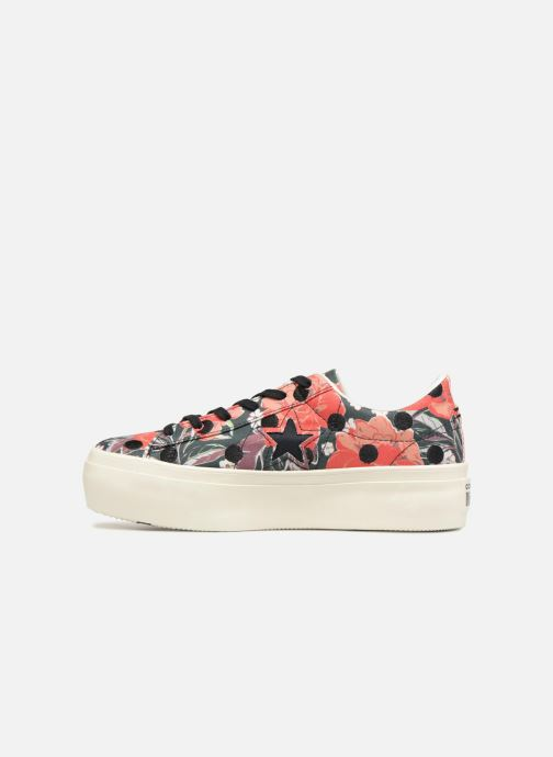 Sneakers Converse One Star Platform Floral Dots Ox Multicolor voorkant