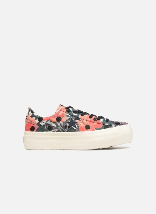 Sneakers Converse One Star Platform Floral Dots Ox Multicolor achterkant