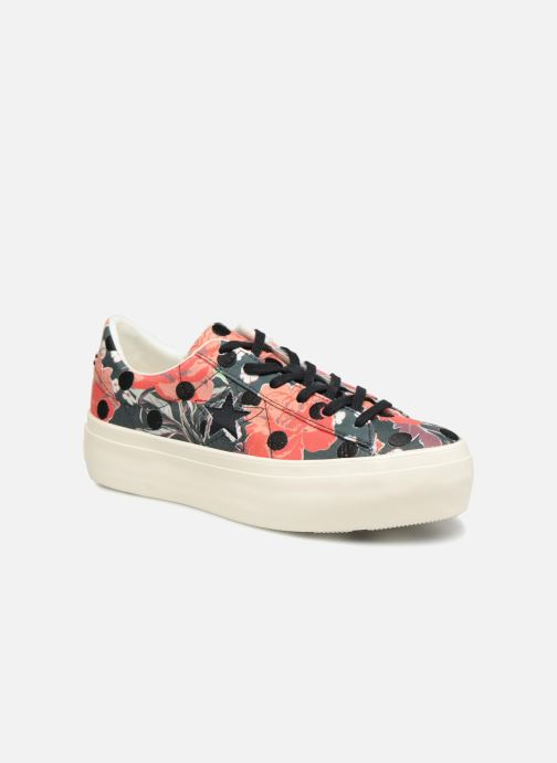 36fefa9d02c2b Converse One Star Platform Floral Dots Ox (Multicolor) - Trainers ...