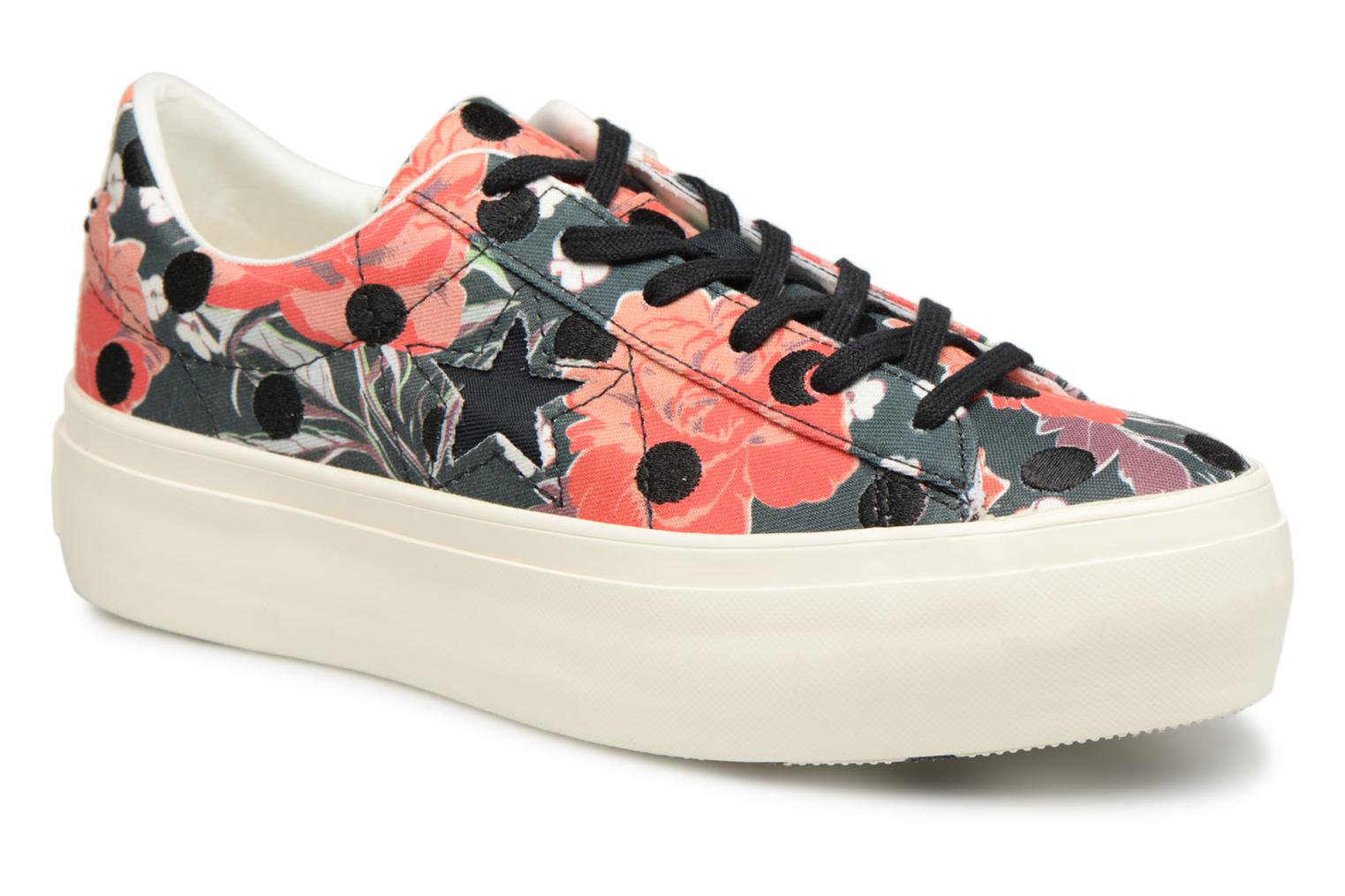 Sneakers Converse One Star Platform Floral Dots Ox Multicolor detail
