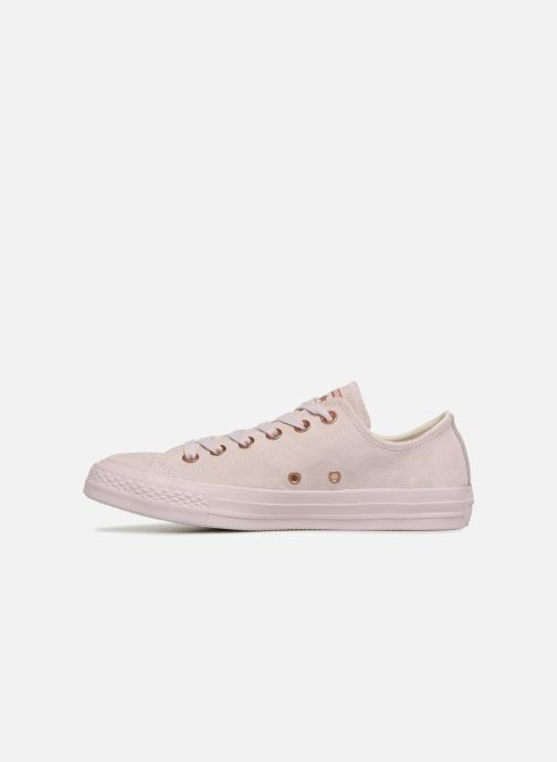 Baskets Converse Chuck Taylor All Star Cherry Blossom II Ox Rose vue face