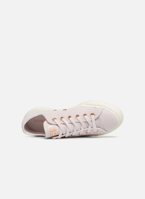 Sneakers Converse Chuck Taylor All Star Cherry Blossom II Ox Rosa immagine sinistra