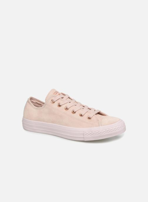 Baskets Converse Chuck Taylor All Star Cherry Blossom II Ox Beige vue détail/paire