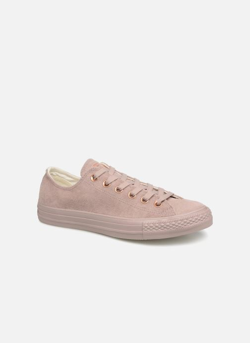 cf7d3a51da11 Trainers Converse Chuck Taylor All Star Cherry Blossom II Ox Pink detailed  view  Pair view