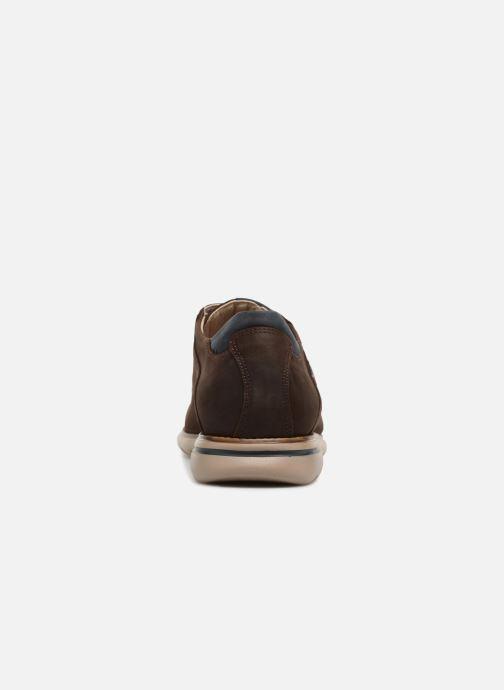 Chaussures à lacets Callaghan Parkline Marron vue droite