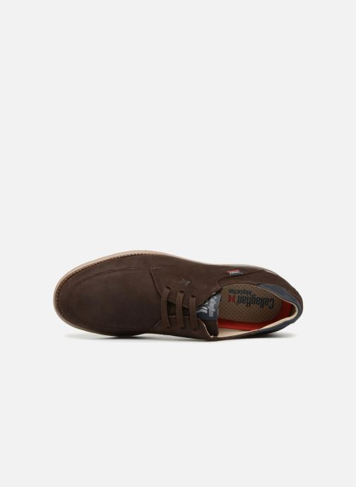 Chaussures à lacets Callaghan Parkline Marron vue gauche