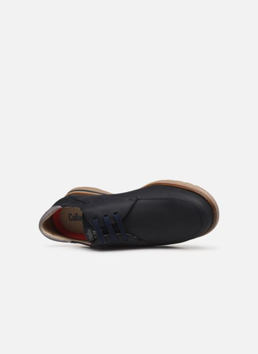 Zapatos con cordones Callaghan Parkline Azul vista lateral izquierda