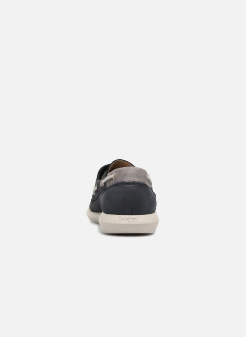 Zapatos con cordones Callaghan WAVELINE Azul vista lateral derecha